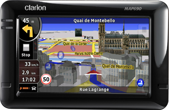 GPS CLARION MAP690 TRUCK